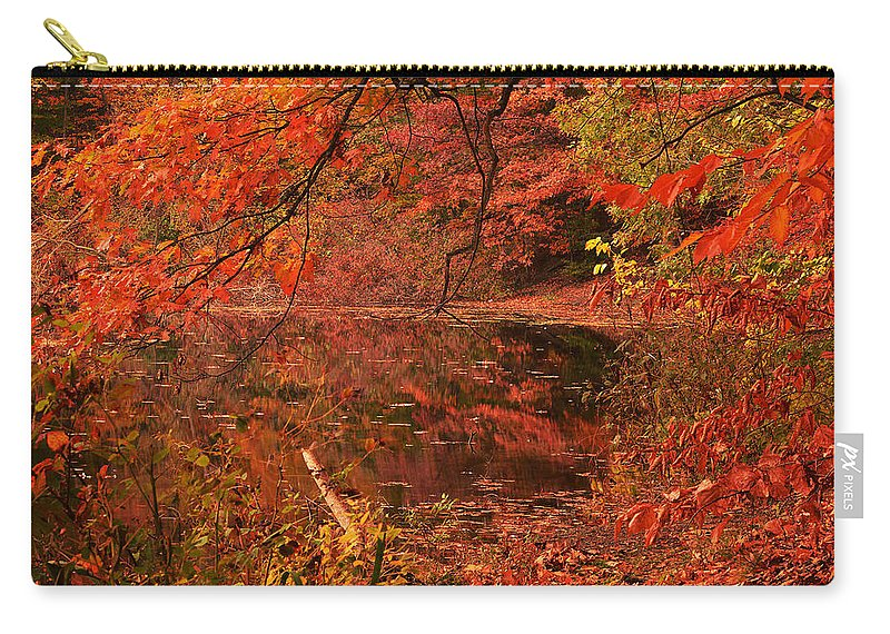 Rhode Island Carry-all Pouch featuring the photograph Fall Flavor by Lourry Legarde
