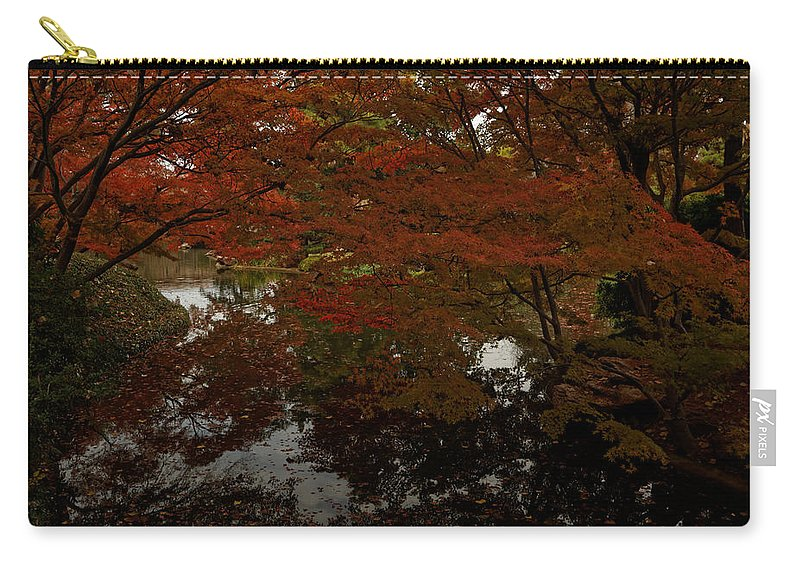 Autumn Carry-all Pouch featuring the photograph Fall Reflections by Jonathan Davison