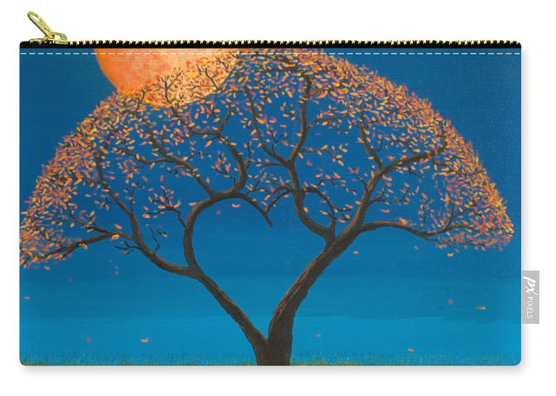 Love Carry-all Pouch featuring the painting Falling For You by Jerry McElroy