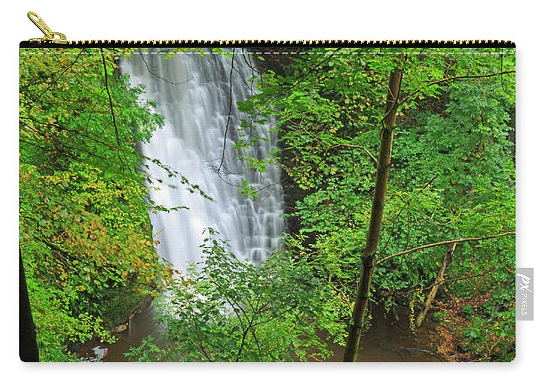 Scenics Carry-all Pouch featuring the photograph Falling Foss, North York Moors National by Louise Heusinkveld