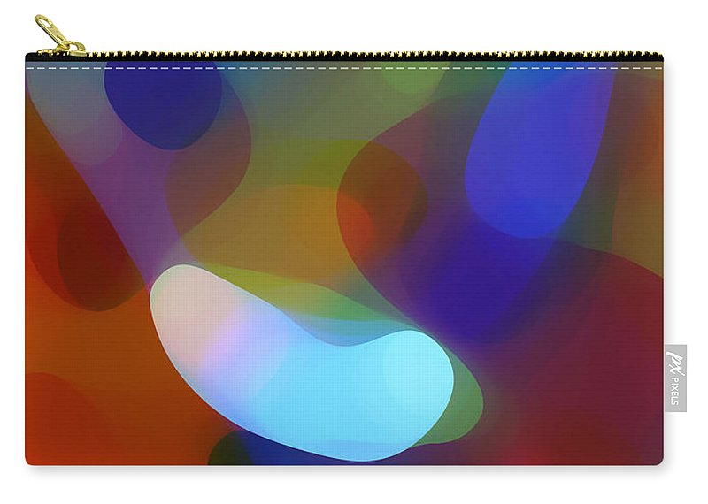 Carry-all Pouch featuring the painting Falling Light by Amy Vangsgard