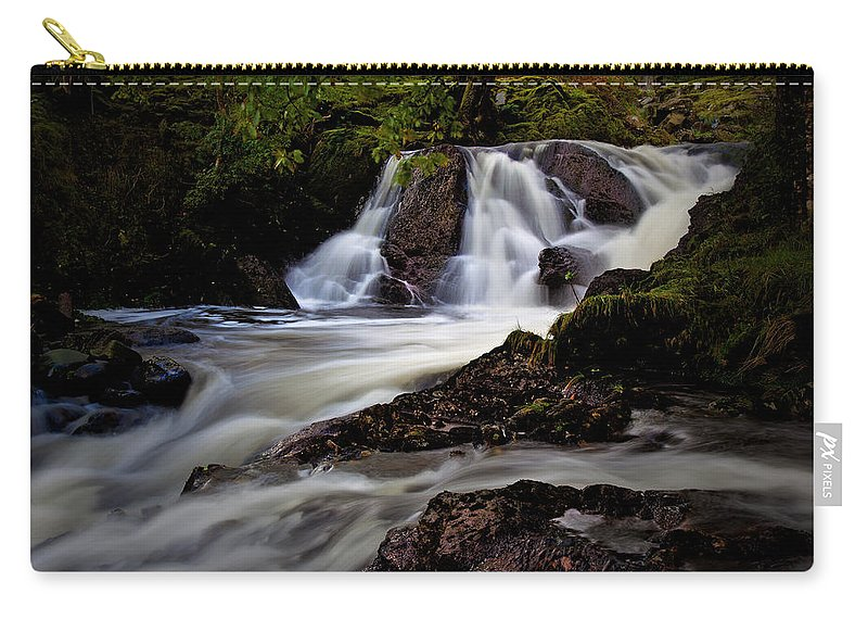 Waterfall Carry-all Pouch featuring the photograph Falls by Beverly Cash