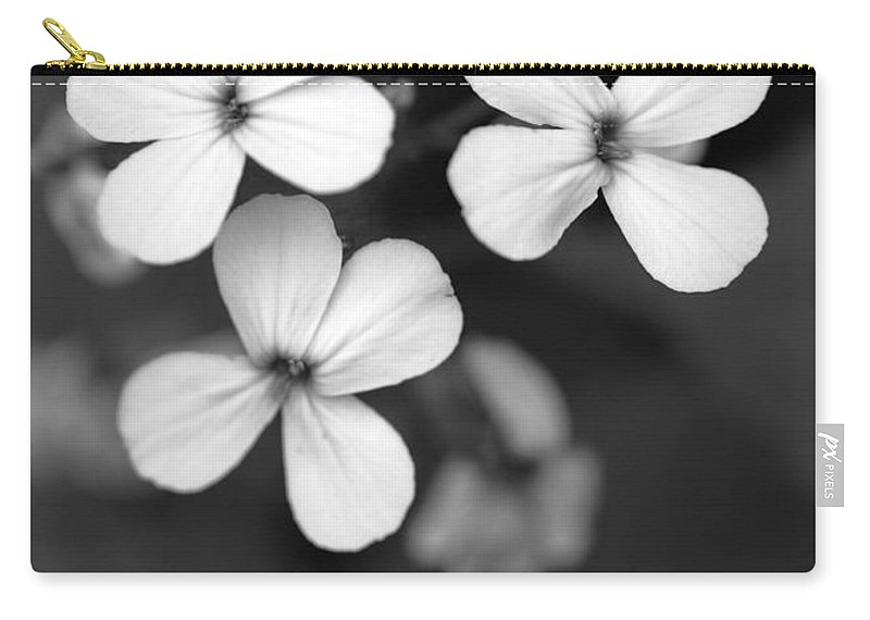 Floral Carry-all Pouch featuring the photograph Family by Amanda Barcon