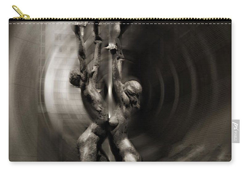 Family Carry-all Pouch featuring the photograph Family by Bill Cannon