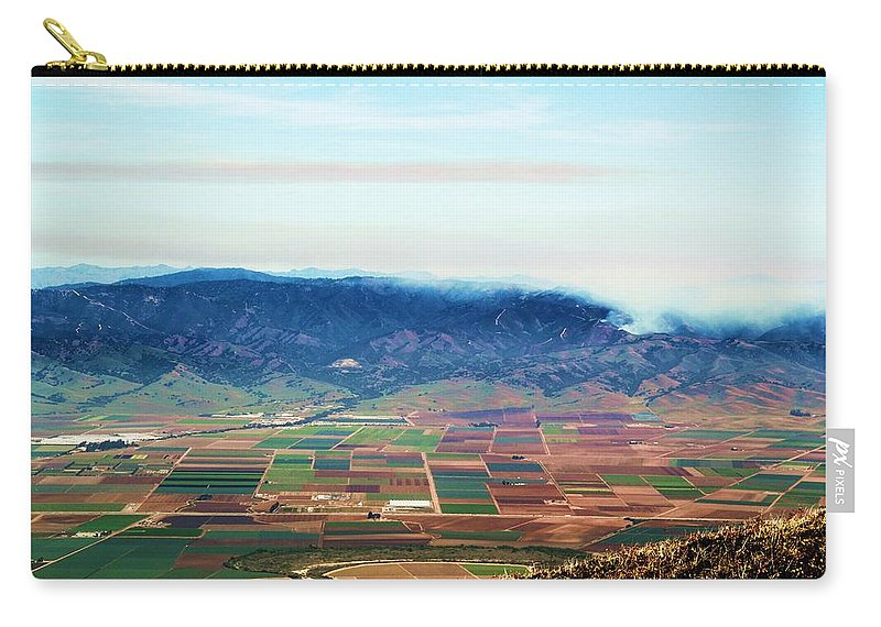 Salinas Valley Carry-all Pouch featuring the photograph Farm Land by Marianne Jimenez