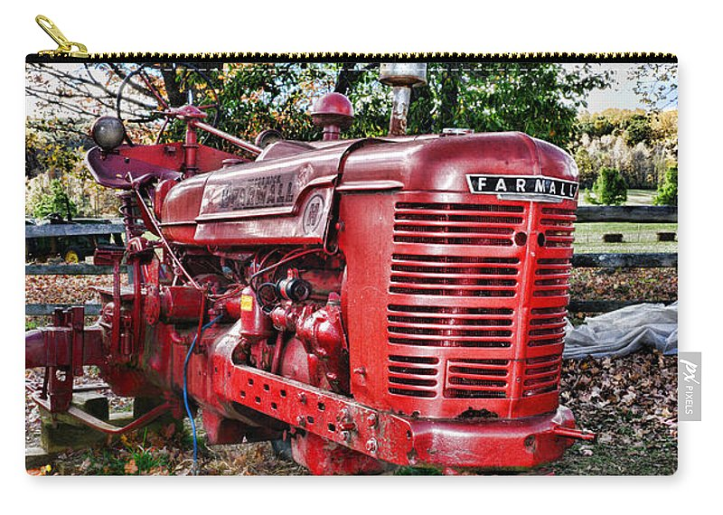 Paul Ward Carry-all Pouch featuring the photograph Farmers Tractor by Paul Ward