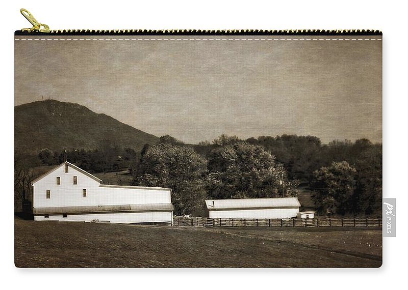 Farming The Shenandoah Carry-all Pouch featuring the photograph Farming The Shenandoah by Dan Sproul