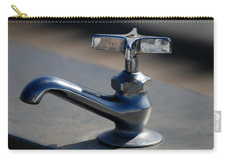 Faucet Photo Carry-all Pouch featuring the photograph Farrah by Rob Hans