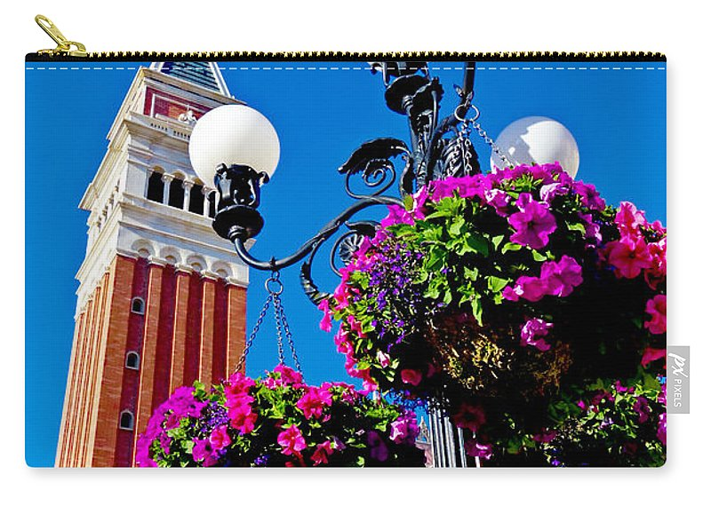 Italy Carry-all Pouch featuring the photograph Faux Italy by Greg Fortier