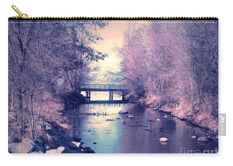 February Carry-all Pouch featuring the photograph February Yearning by Tara Turner