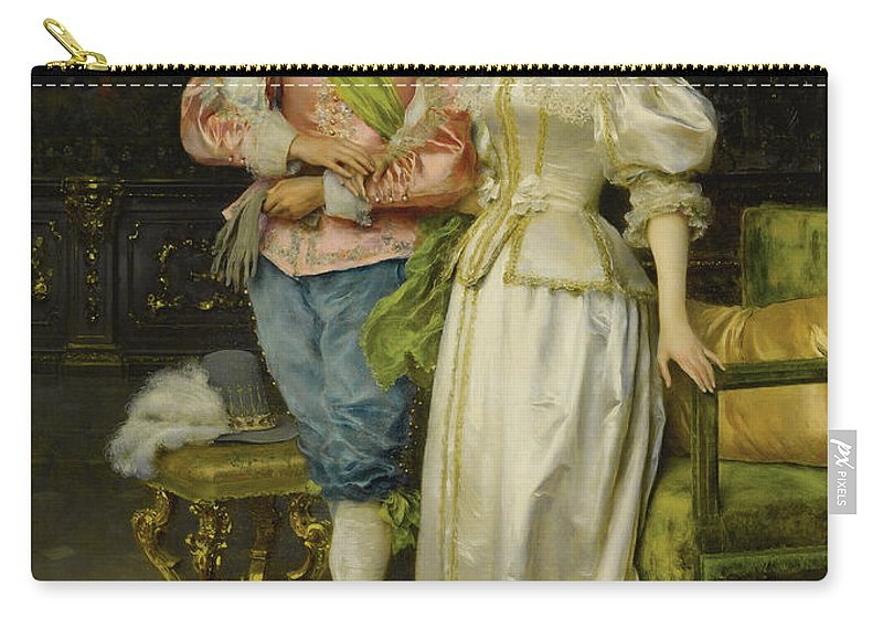 Federico Andreotti Carry-all Pouch featuring the photograph Betrothed by Federico Andreotti