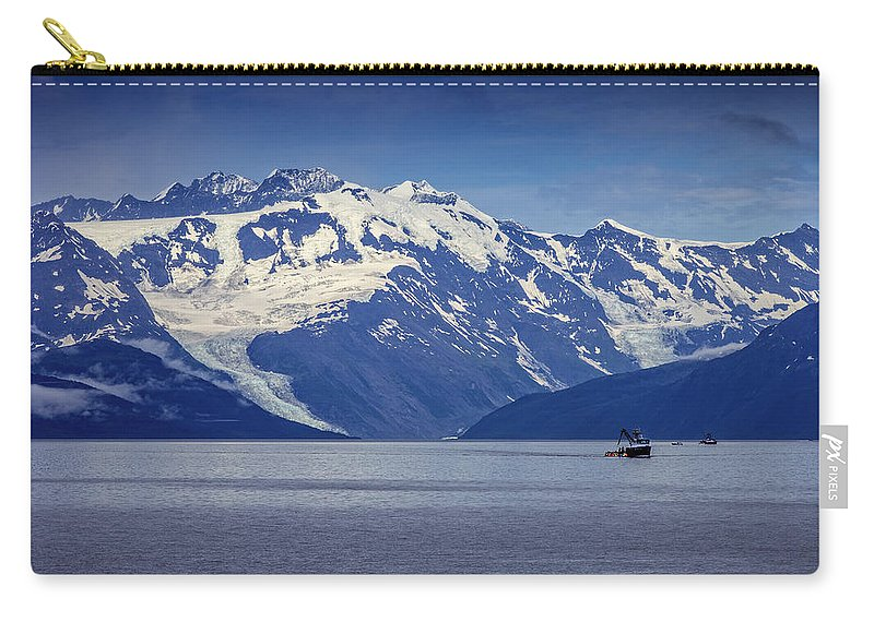 Mountain Carry-all Pouch featuring the photograph Feeling Small by Rick Berk