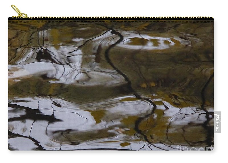 Carry-all Pouch featuring the photograph Fells Like A Landscape by Nili Tochner