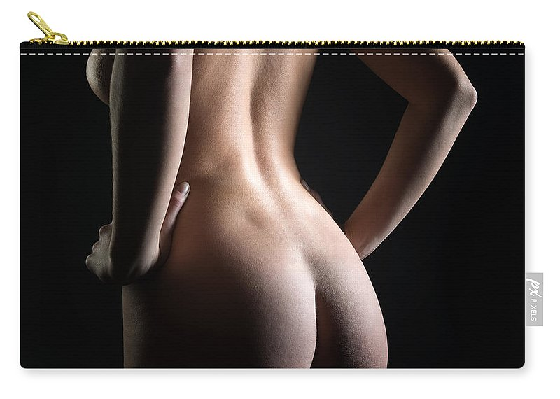 Woman Carry-all Pouch featuring the photograph Female Curves by Jochen Schoenfeld