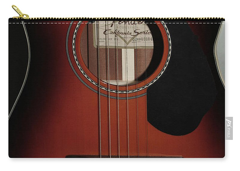 Fender Carry-all Pouch featuring the photograph Fender by Linda Sannuti