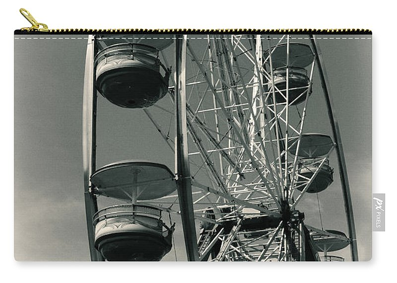 Ferris Wheel Carry-all Pouch featuring the photograph Ferris Wheel by Karol Livote