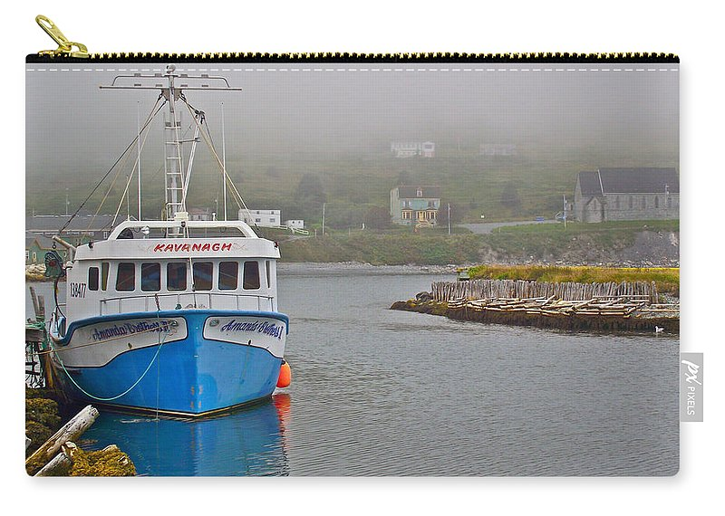 Ferryland Harbour Carry-all Pouch featuring the photograph Ferryland Harbour-nl by Ruth Hager