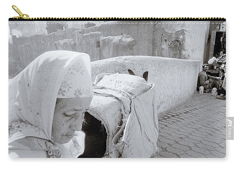 Fez Carry-all Pouch featuring the photograph Fez Old City by Shaun Higson