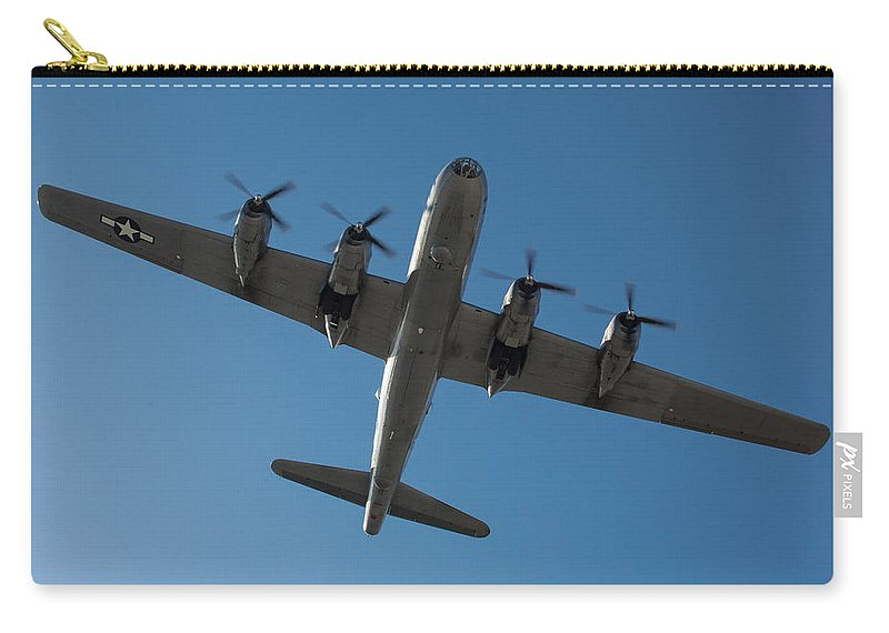 Fifi Carry-all Pouch featuring the photograph Fifi Overhead by John Daly