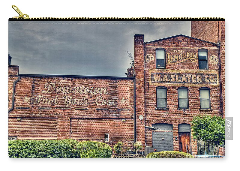 Durham Carry-all Pouch featuring the photograph Find Your Coals by Emily Kay