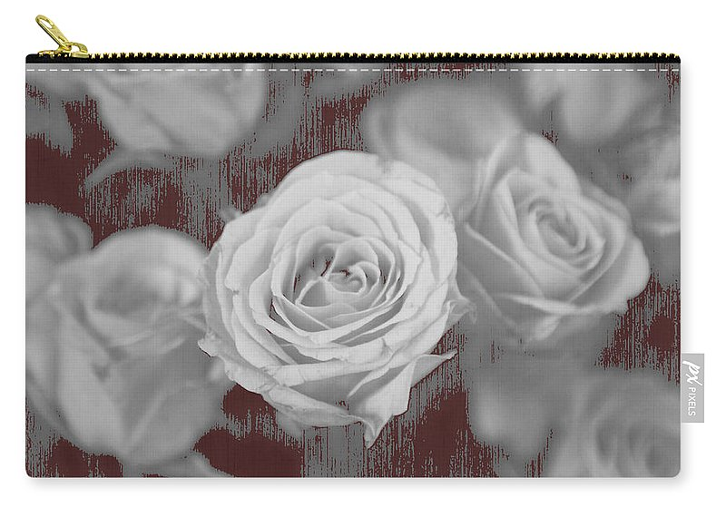 Roses Carry-all Pouch featuring the photograph Finding Your Place by Amanda Barcon