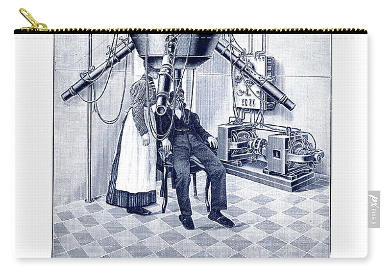 1905 Carry-all Pouch featuring the photograph Finsen Apparatus, C1905 by Granger