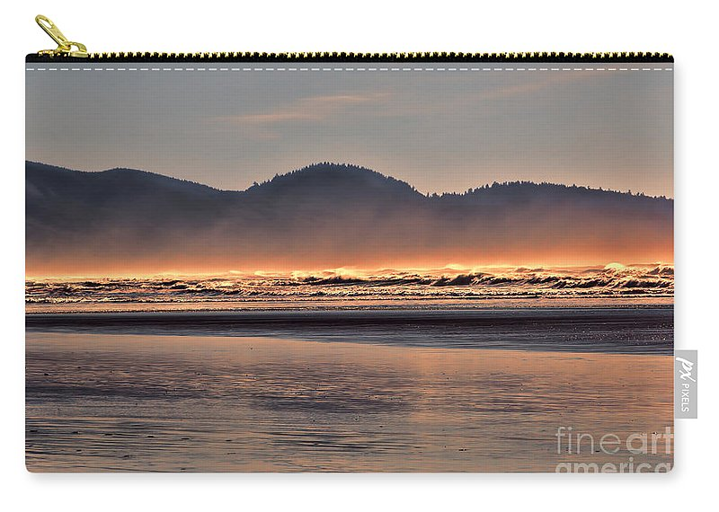 Oregon Carry-all Pouch featuring the photograph Firewater by Jon Burch Photography