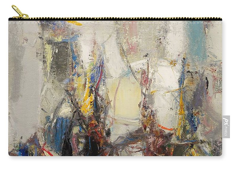 Abstract Carry-all Pouch featuring the painting First Date by Grigor Malinov