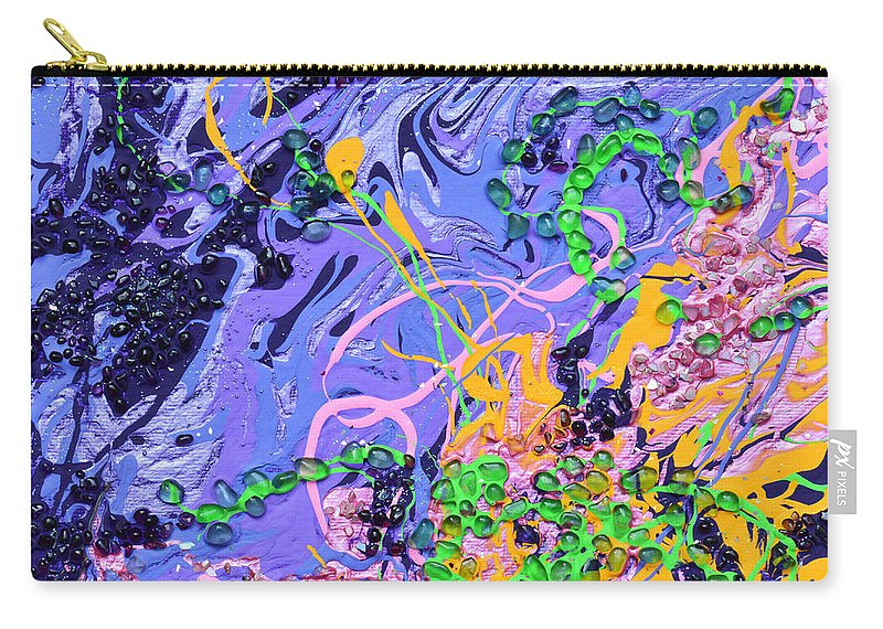 Love Carry-all Pouch featuring the painting First Love by Donna Blackhall