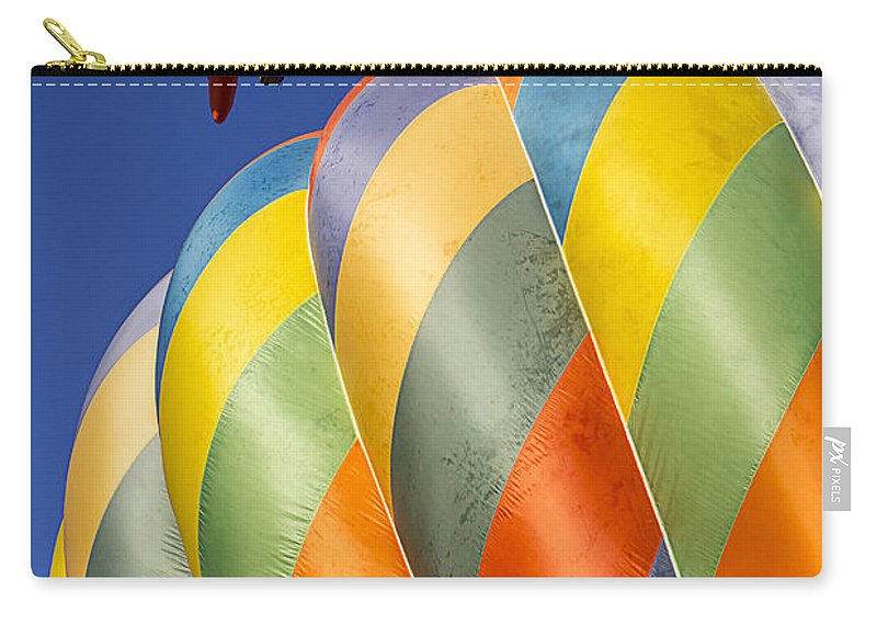 Fish Carry-all Pouch featuring the photograph Fish In The Sky by Garry Gay