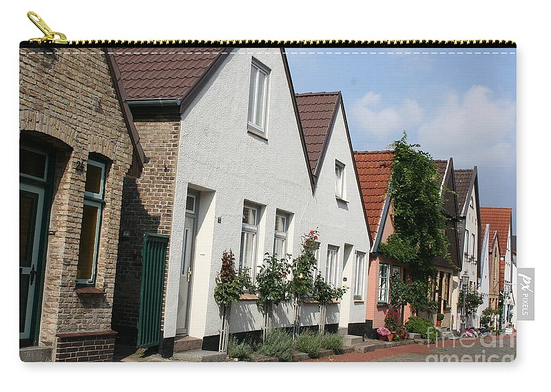 Fishingvillage Carry-all Pouch featuring the photograph Fishingvillage Holm by Christiane Schulze Art And Photography