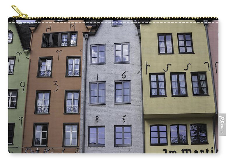 2014 Carry-all Pouch featuring the photograph Fishmarket Townhouses 2 by Teresa Mucha