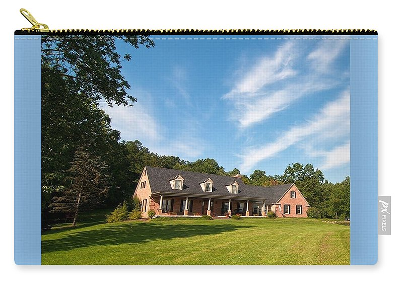 Carry-all Pouch featuring the photograph Five by Randall Branham