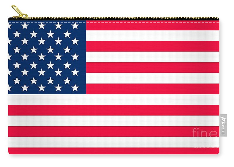 America Carry-all Pouch featuring the painting Flag of the United States of America by Anonymous