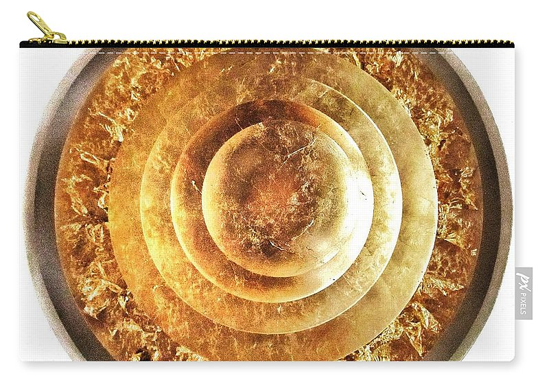 Flaking Carry-all Pouch featuring the photograph Flaking Gold by Marianna Mills