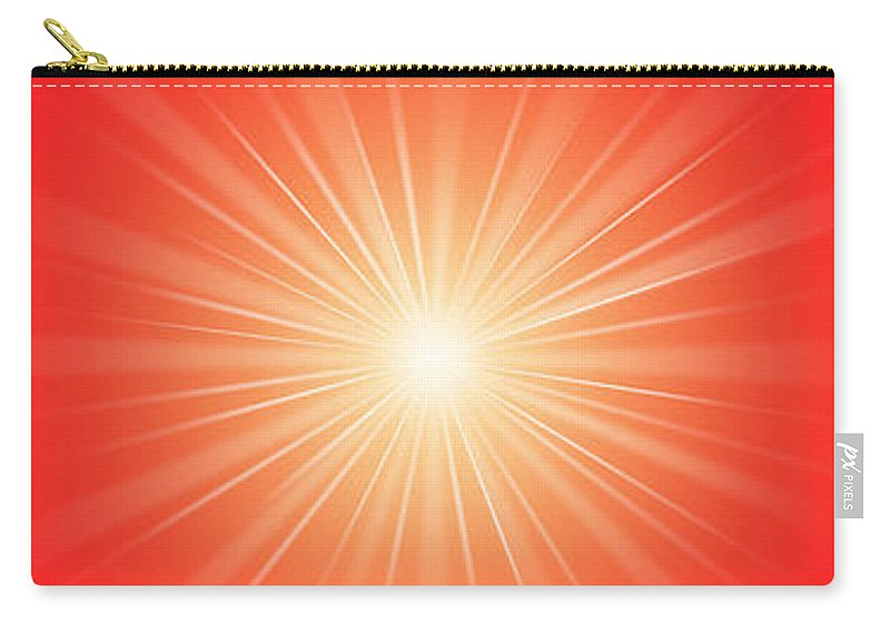 Meditation Carry-all Pouch featuring the digital art Flash - 1 by Philip Ralley