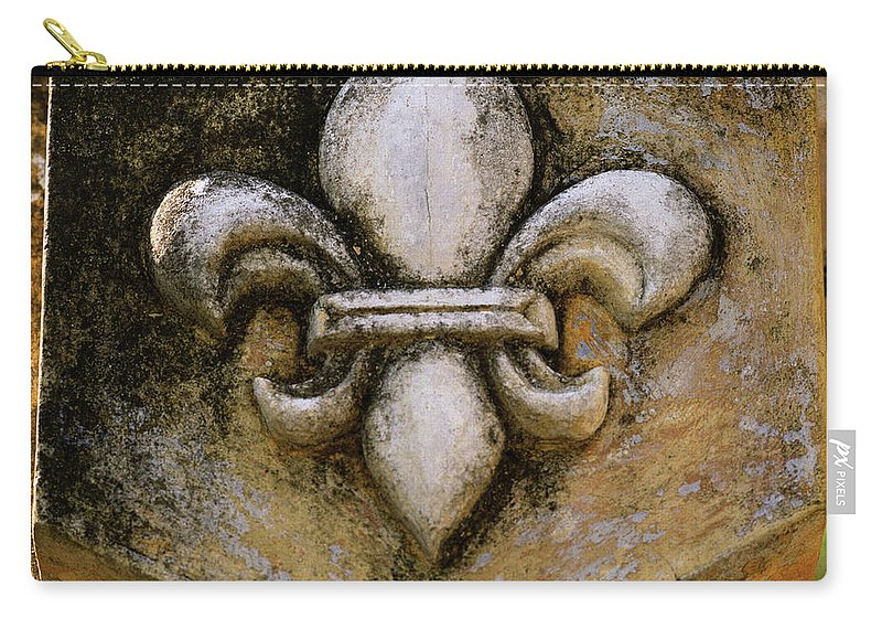 Hoi An Carry-all Pouch featuring the photograph Fleur De Lis by Shaun Higson