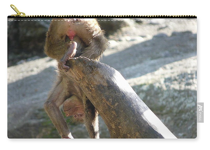 Animal Carry-all Pouch featuring the photograph Flexible by Valerie Ornstein