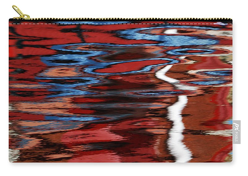 Floating Carry-all Pouch featuring the photograph Floating On Blue 28 by Wendy Wilton