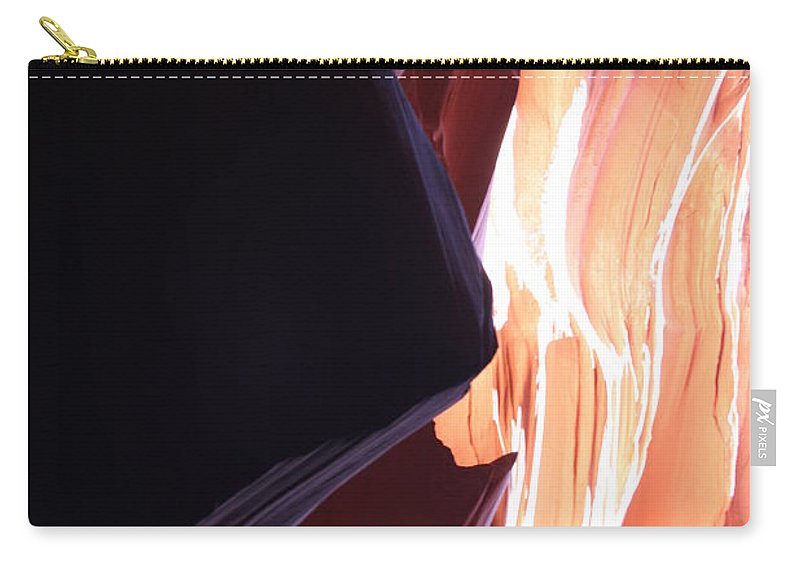 Canyon Carry-all Pouch featuring the photograph Floating Sandstone by Christiane Schulze Art And Photography
