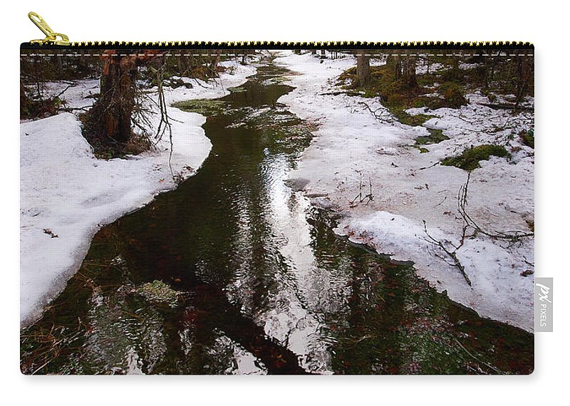 Lehto Carry-all Pouch featuring the photograph Flooding Forest by Jouko Lehto
