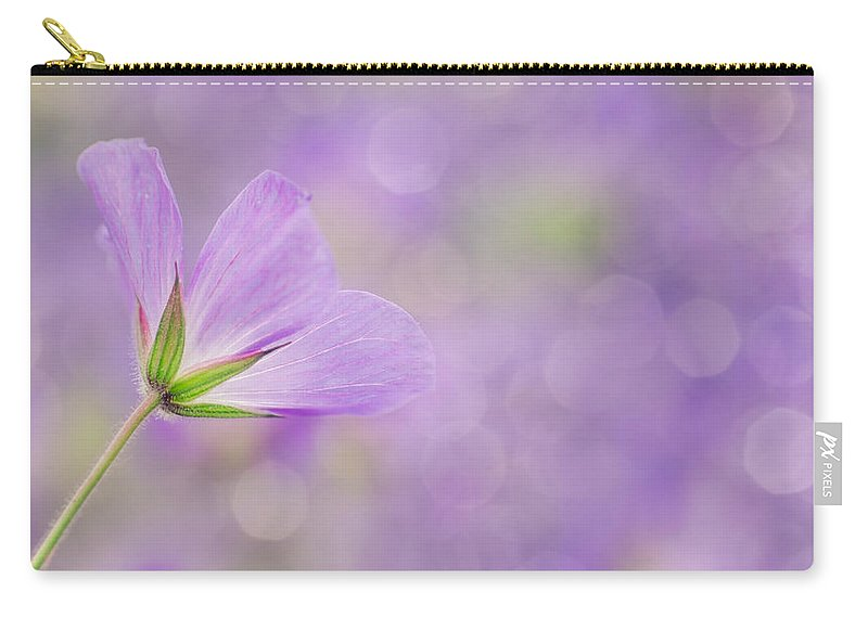 Flower Carry-all Pouch featuring the photograph Floral Design by TouTouke A Y