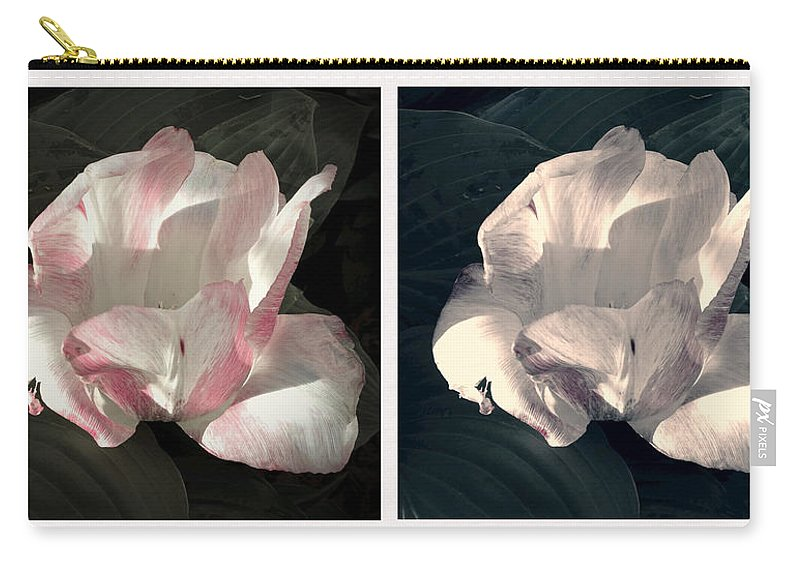 Floral Duo Carry-all Pouch featuring the photograph Floral Duo by Photographic Arts And Design Studio