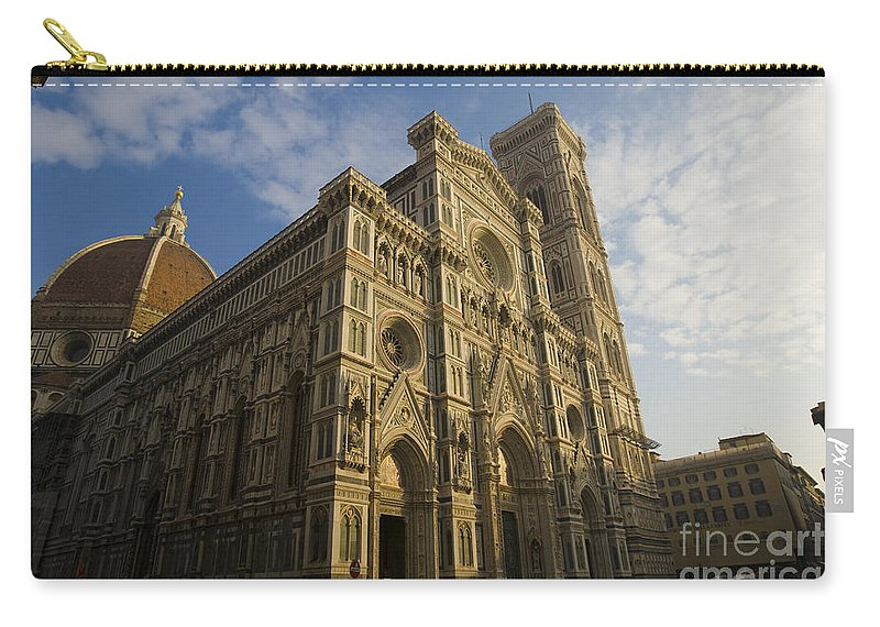 Travel Carry-all Pouch featuring the photograph Florence Cathedral by Jason O Watson
