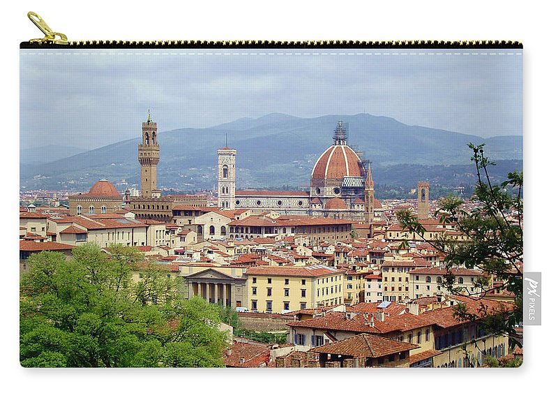 Florence Carry-all Pouch featuring the photograph Florence by Ellen Henneke