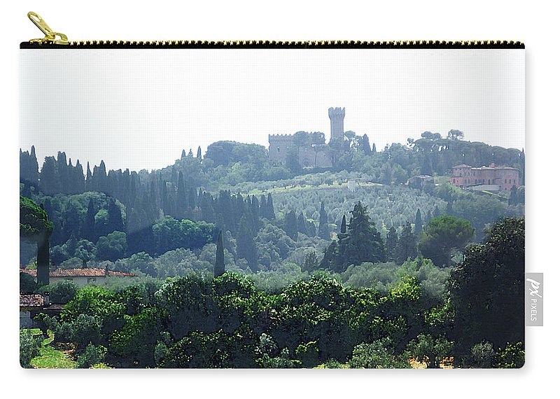 Italy Carry-all Pouch featuring the photograph Florence Landscape by Irina Sztukowski