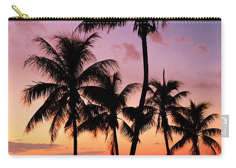 Sunset Carry-all Pouch featuring the photograph Florida Breeze by Chad Dutson