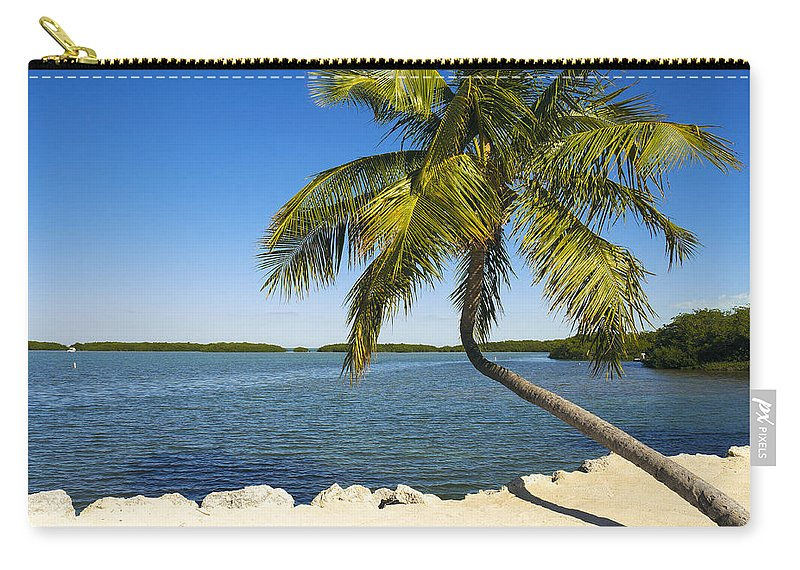 Bayshore Carry-all Pouch featuring the photograph Florida Keys by Raul Rodriguez