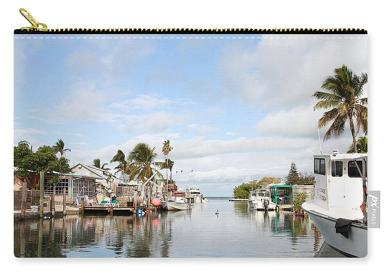 Florida Carry-all Pouch featuring the photograph Florida Spring Day by Deborah Benoit