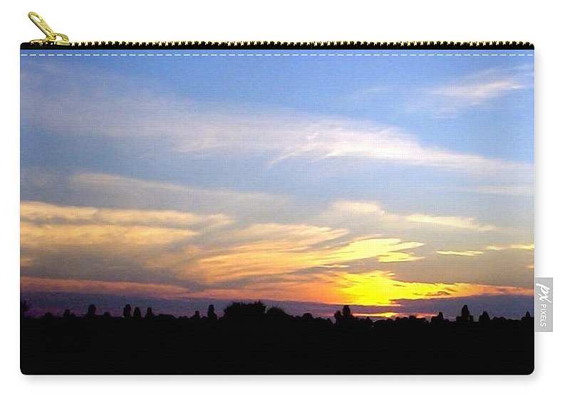 Sunset Carry-all Pouch featuring the photograph Florida Sunset by Norman Johnson